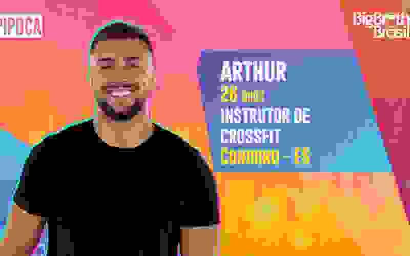 Arthur é participante do BBB21; conheça!