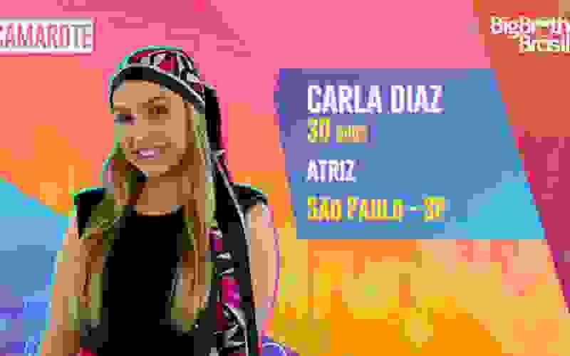 Carla Diaz é participante do BBB21; conheça!