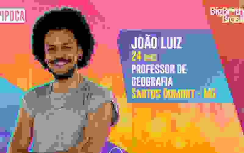 João Luiz é participante do BBB21; conheça!