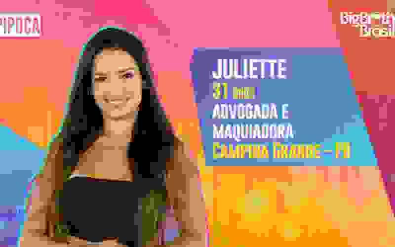 Juliette é participante do BBB21; conheça!