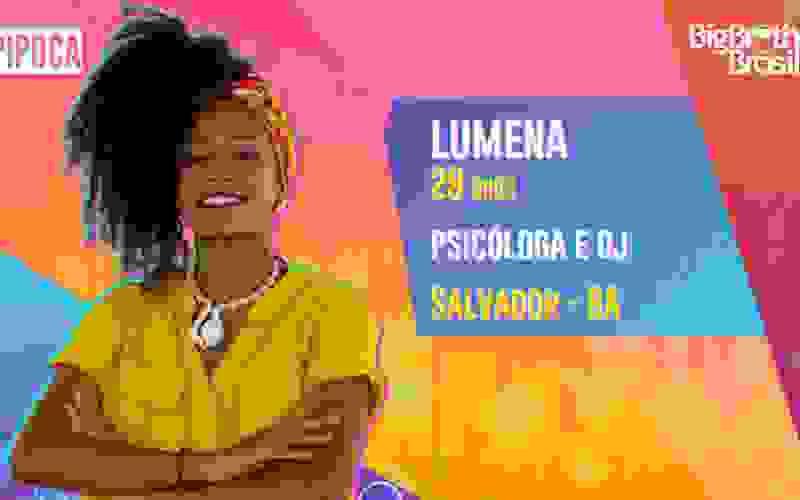 Lumena é participante do BBB21; conheça!